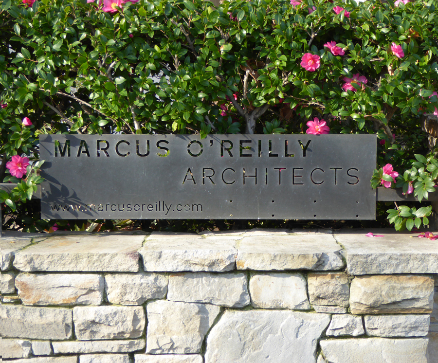 Marcus Oreilly Architects Sign 2
