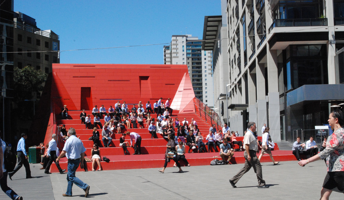 Red Stair Amphitheatre Southbank